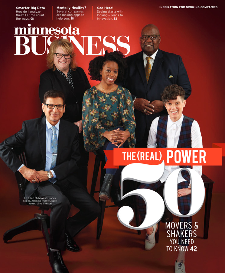 Minnesota Business magazine cover May 2017