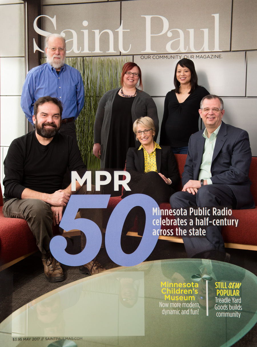 Saint Paul magazine MPR celebrates 50 May 2017