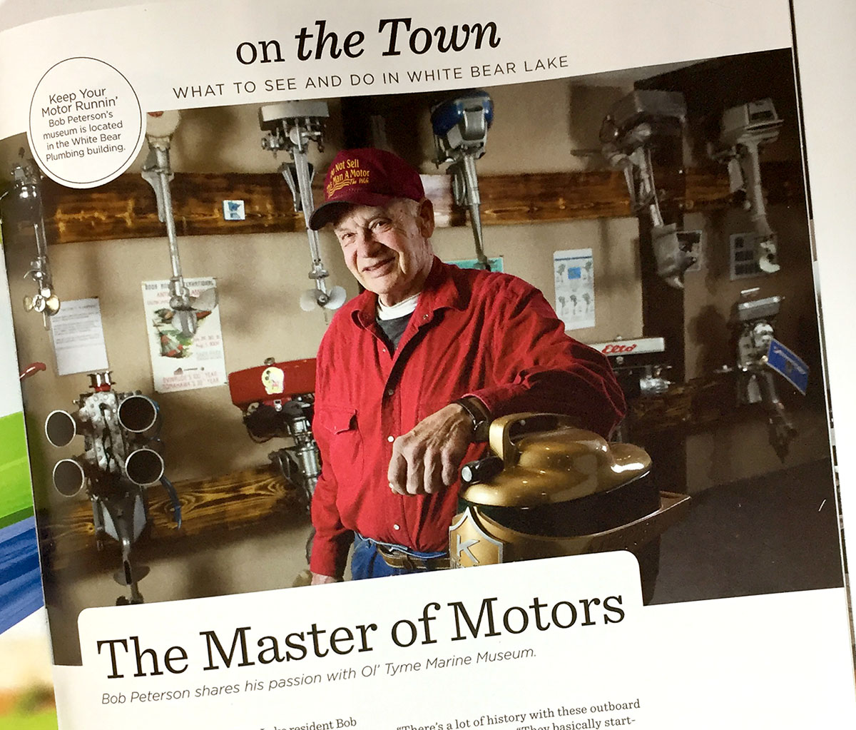White Bear Lake magazine the master of motors