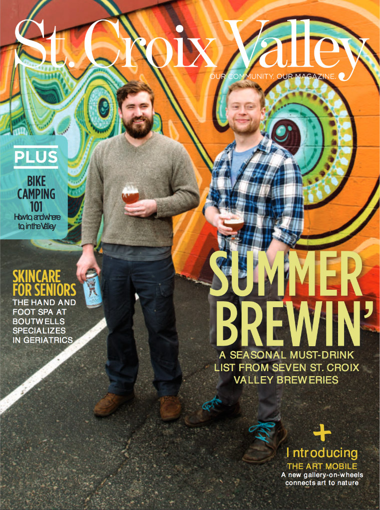 St. Croix Valley magazine Summer Brewin' June 2017